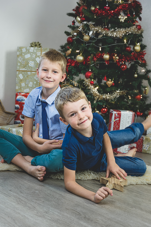 vánoční rodinné focení
