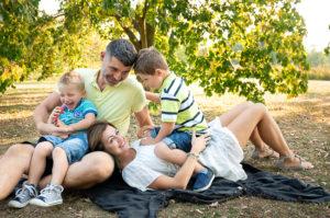Rodinné focení v přírodě