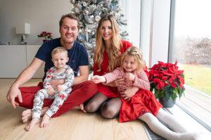 Vánoční rodinné focení u vás doma