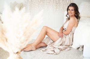 boudoir a glamour focení žen v boho studiu praha